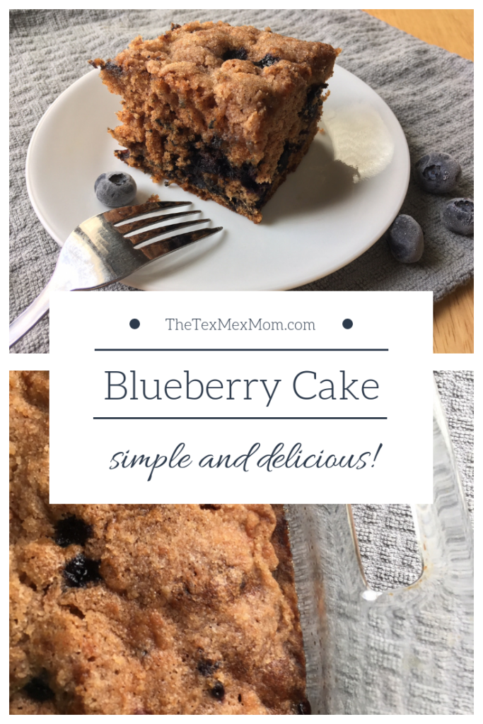Blueberry Cake #moistcake #blueberries #easydessert