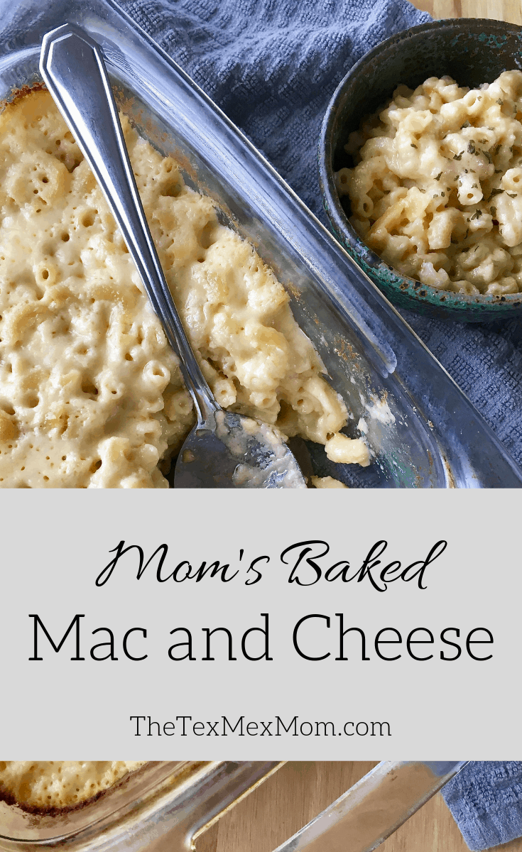 mom's baked mac and cheese #comfortfood #nomeatmonday
