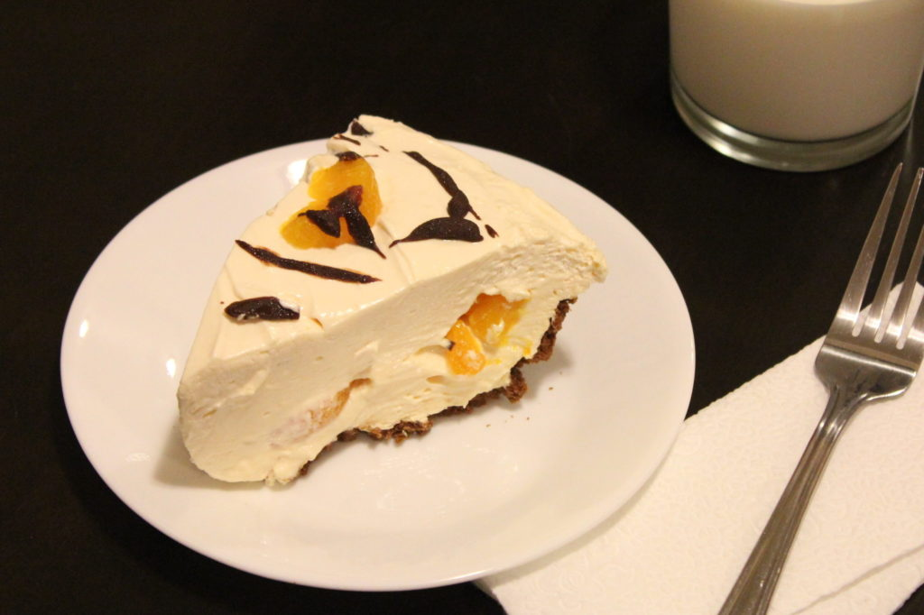 Heavenly Mandarin Orange Pie
