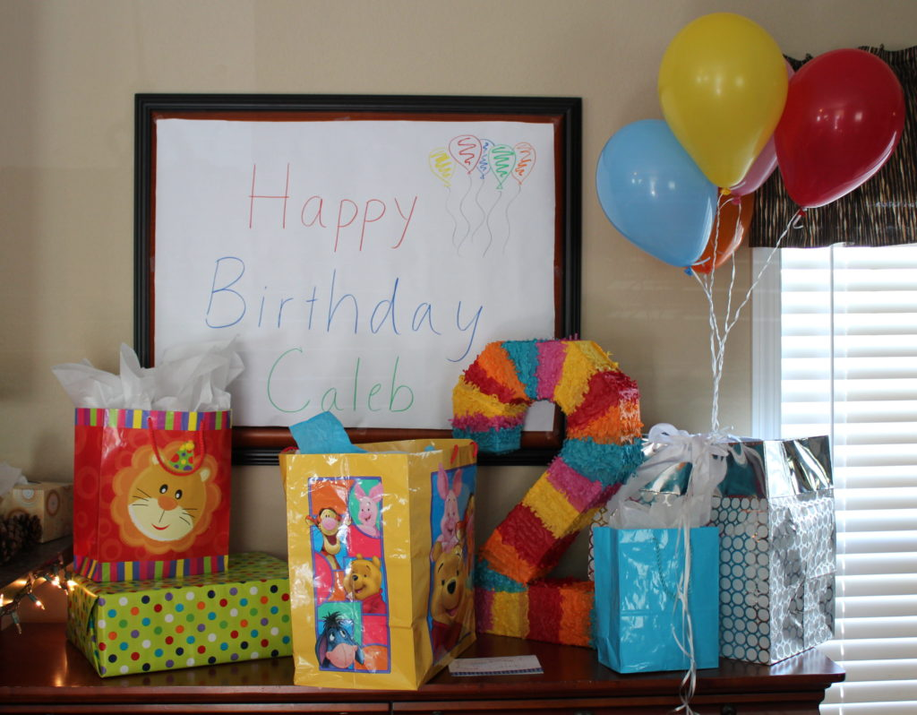example of ways to make your child's birthday special
