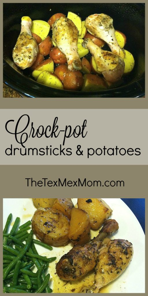 Recipe for chicken legs and drumsticks in the crockpot