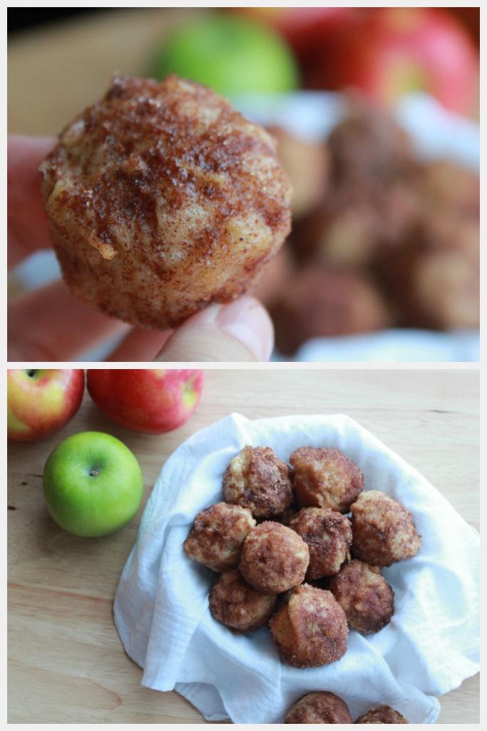 mini apple donut-muffins