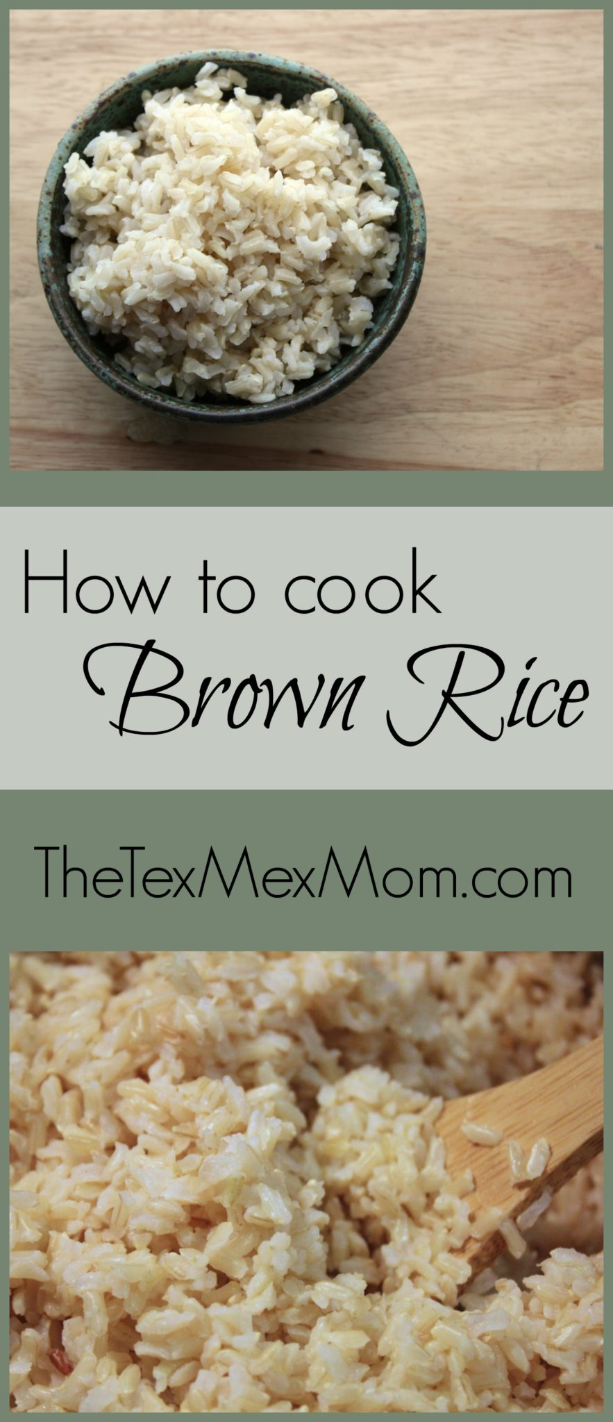 The best way to cook brown rice