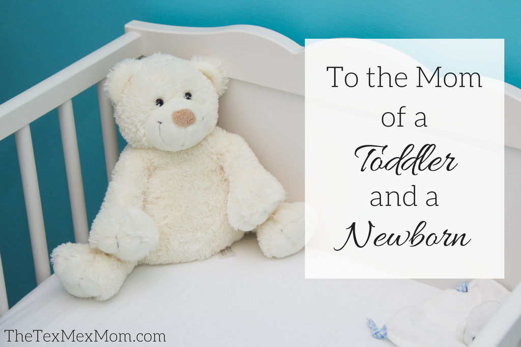 mom of a toddler and a newborn #momoftwo