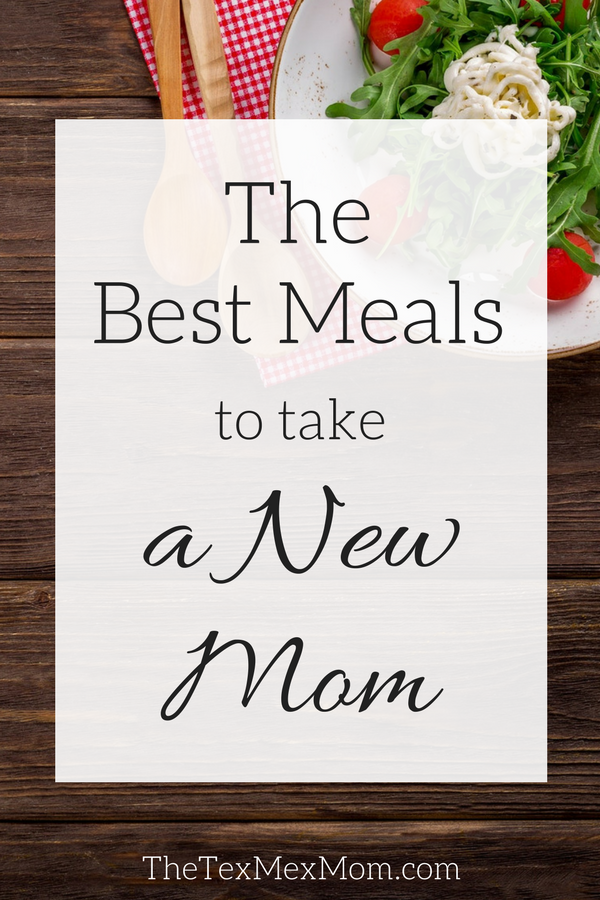 Meals for New Moms #mealideas #mealtrain #takeameal