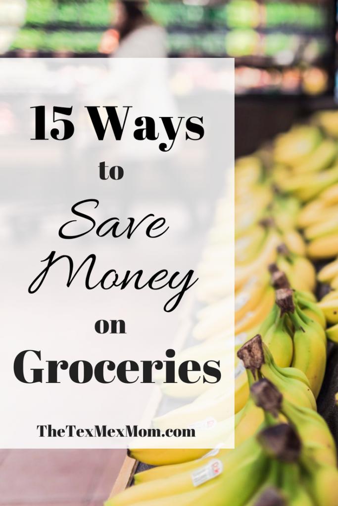 Ways to Save Money on Groceries #savingmoney #frugalliving #grocerybudget