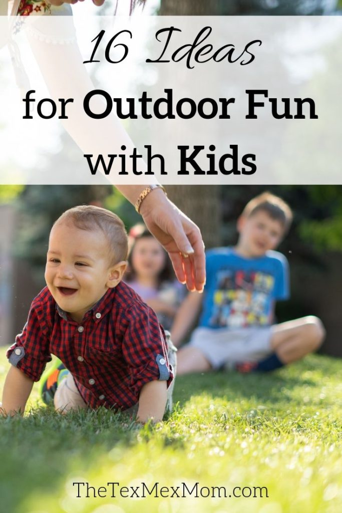 A list of things to do outside with your kids
