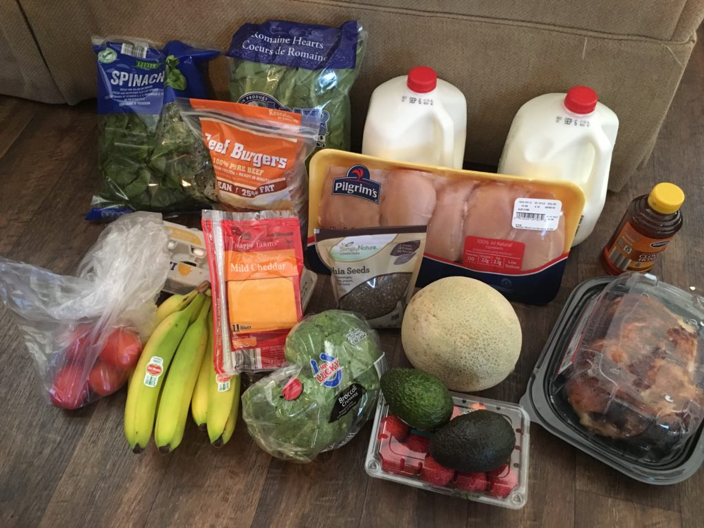 50 grocery budget week 3 eating a low carb diet on a budget the tex mex mom. Black Bedroom Furniture Sets. Home Design Ideas