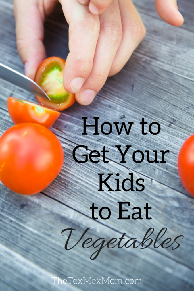 How to get your kids to eat their veggies #pickyeater #veggies