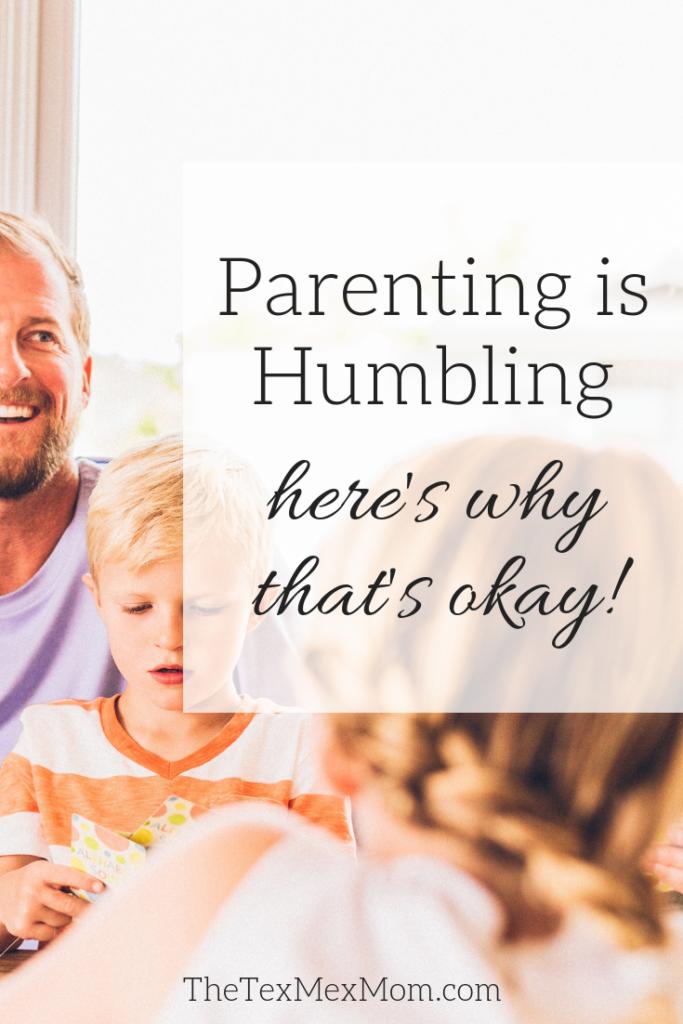 Parenting is humbling #parenting #momlife #sahm