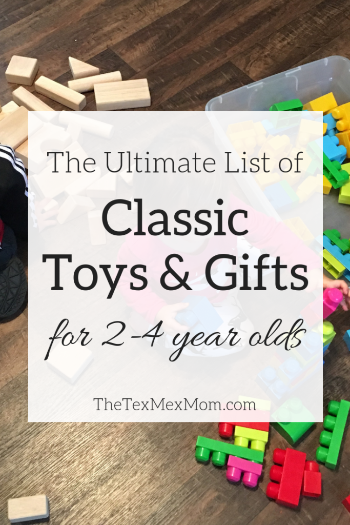 gift guide for preschoolers #giftguide #besttoys #classictoys
