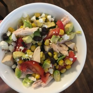 Healthy salad #grocerybudget #lowcarbonabudget