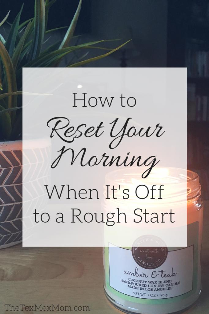 Restart Your Morning #morningroutine #vellabox #sahm