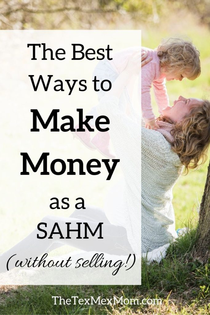 Ideas for ways to make money from home