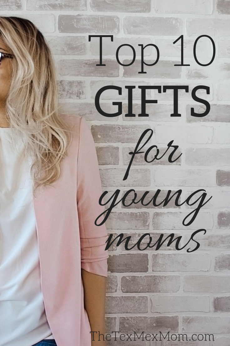 Gifts for young moms #giftideas #giftsformoms