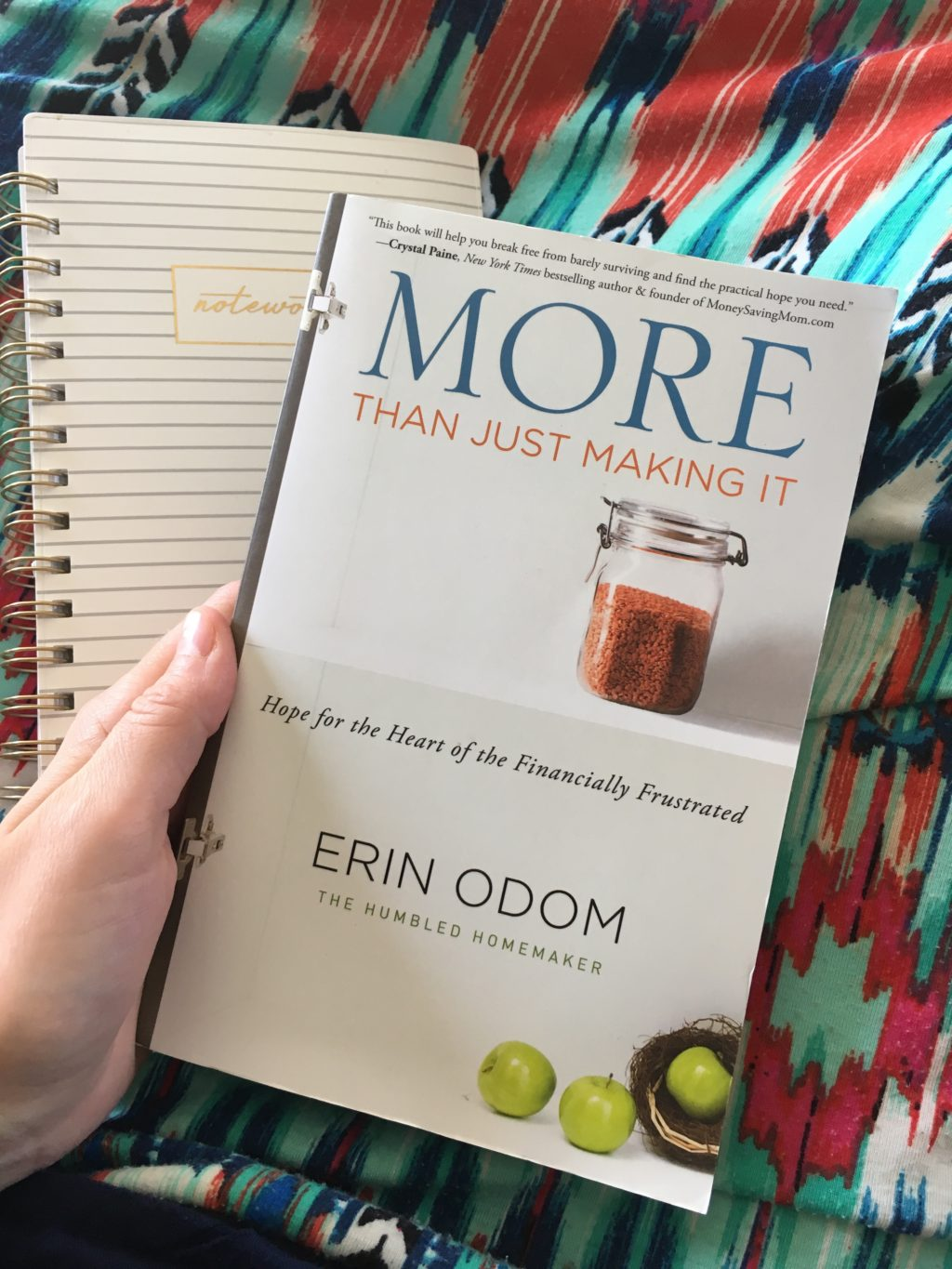More Than Just Making It by Erin Odom