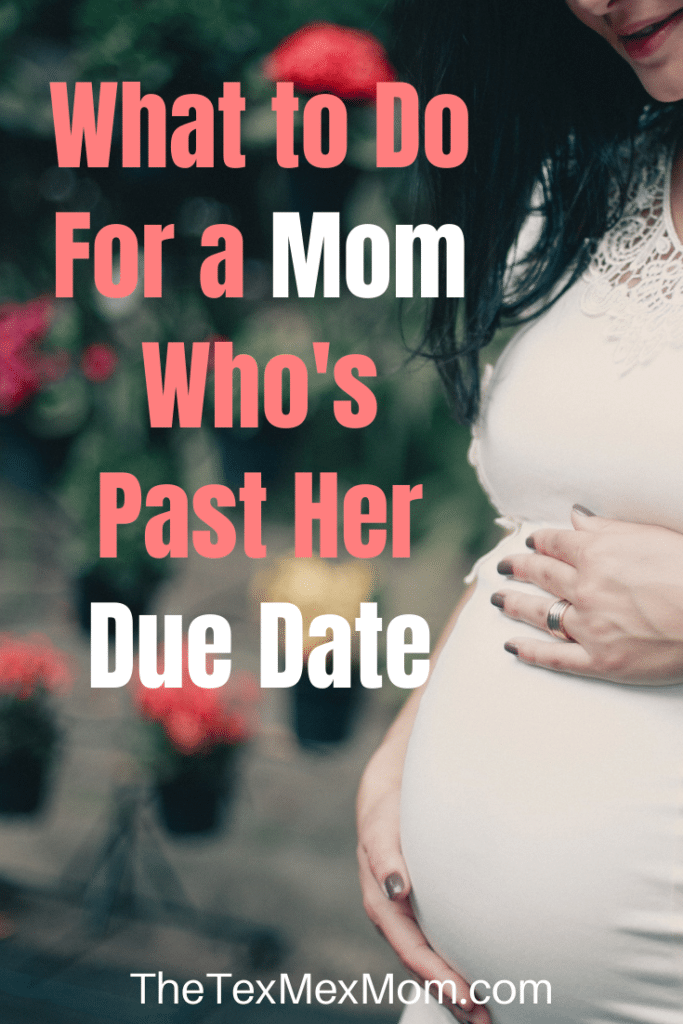 Pregnant woman past her due date