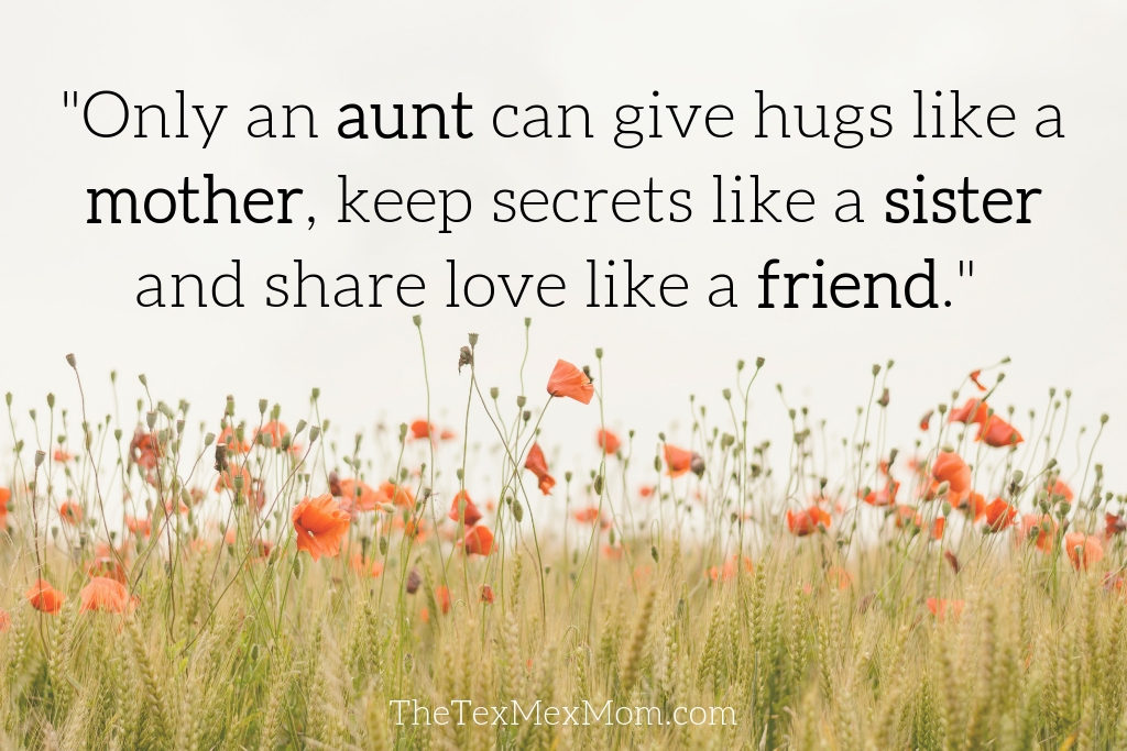 quote about aunts