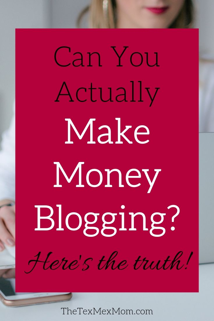 Can you make money blogging? Here's my experience.
