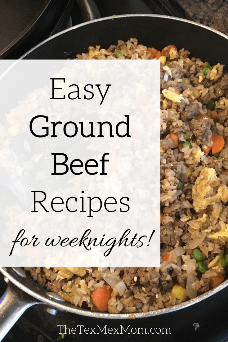 5 easy ground beef recipes for weeknights