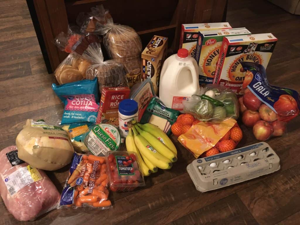 Groceries from Kroger