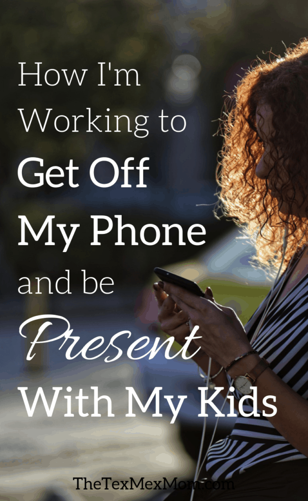 Ways to get off the phone and be present with your kids