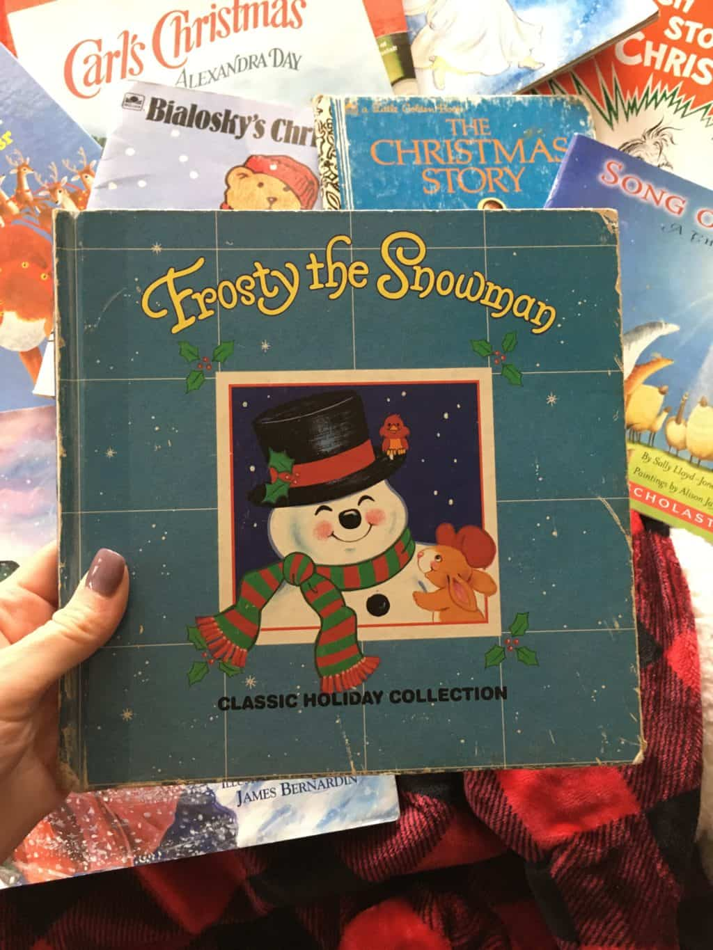 Christmas book: Frosty the snowman