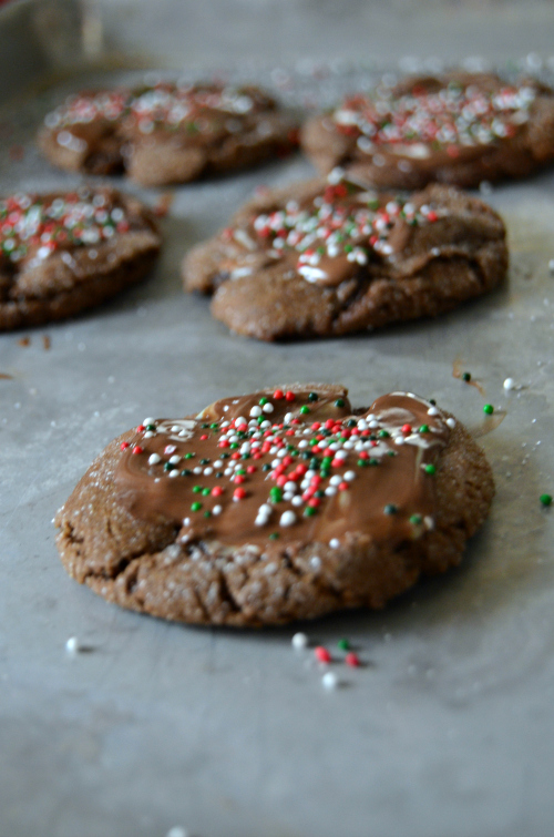 yummy Andes mint cookies for Christmas