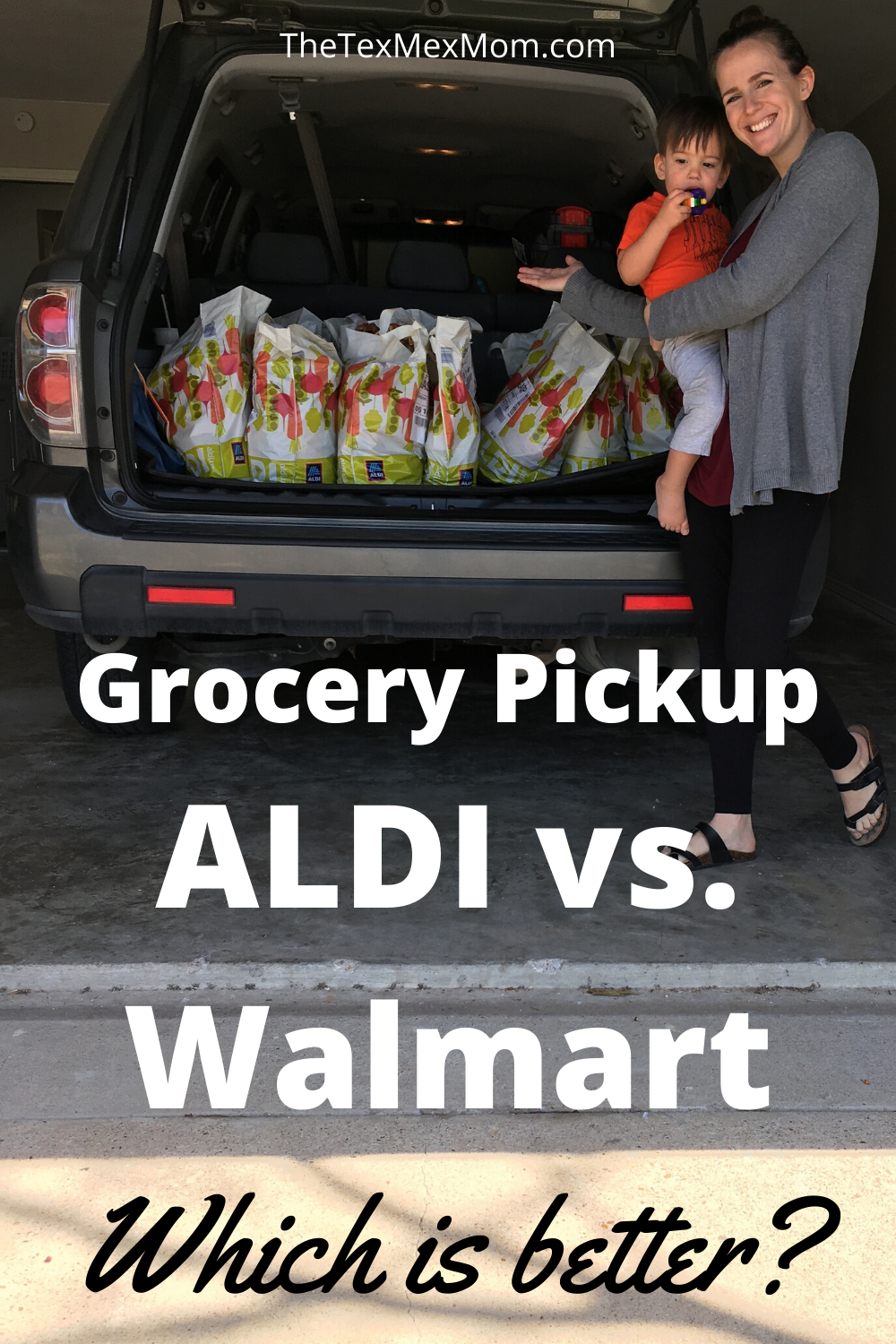 Grocery pickup at ALDI vs. Walmart - which is better?