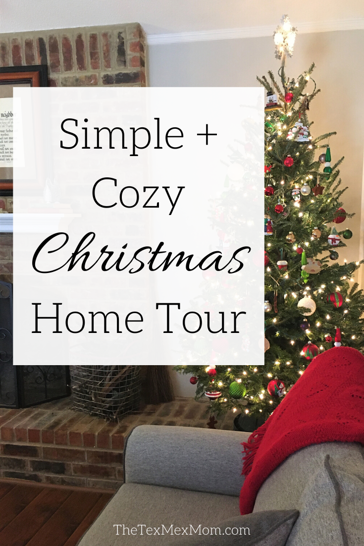 Simple and Cozy Christmas Home Tour