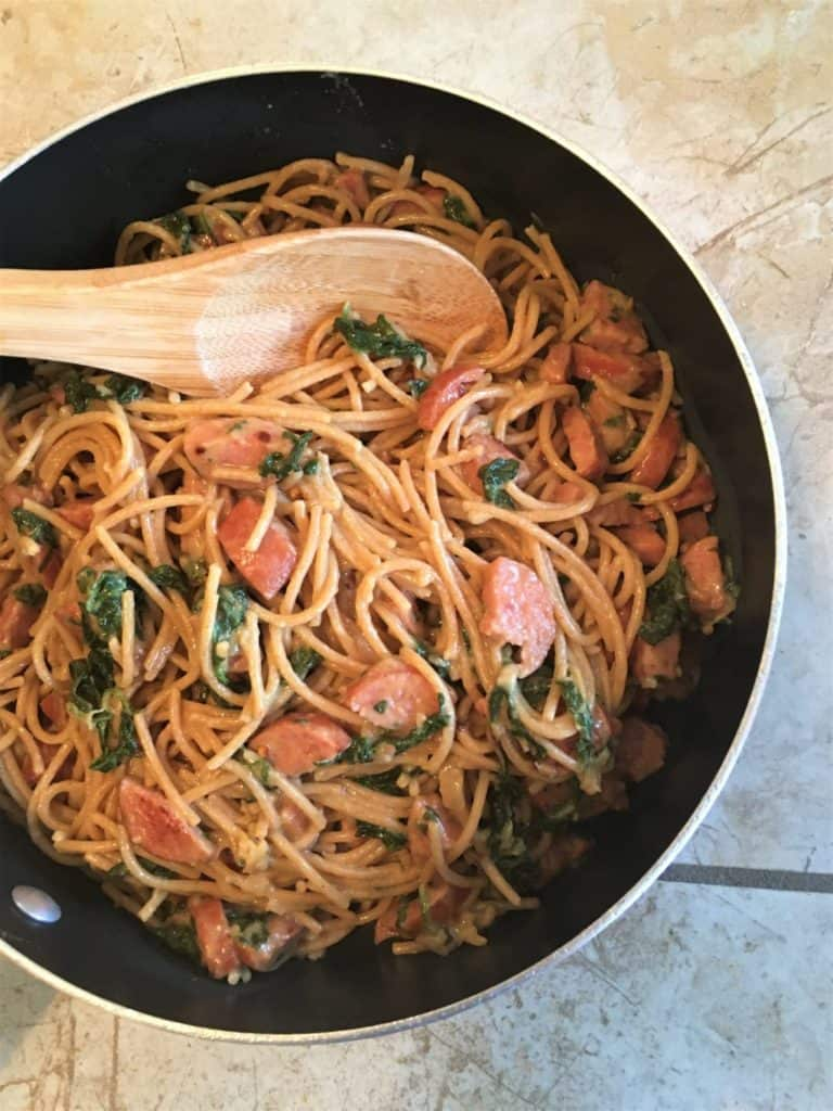 Sausage and Spaghetti Pasta