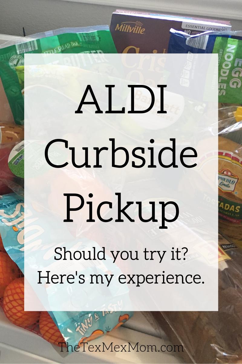 ALDI curbside pickup