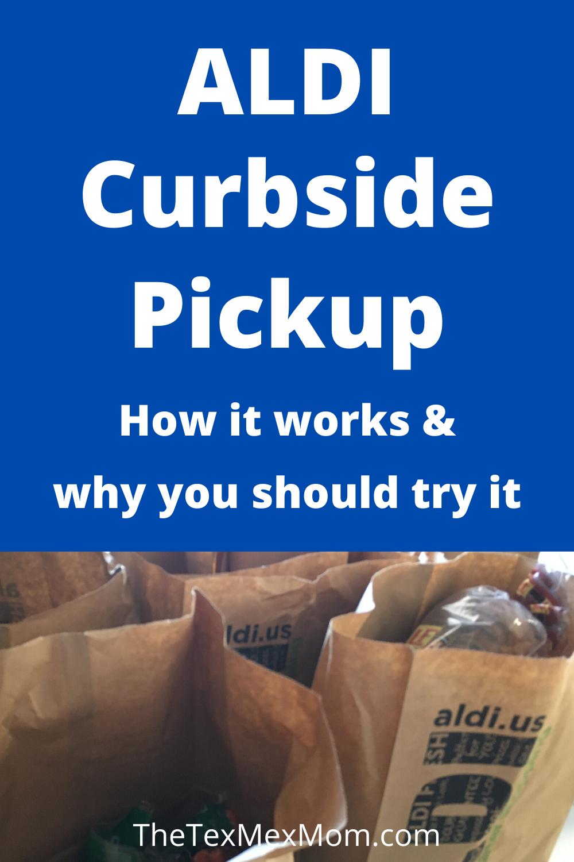 ALDI curbside pickup explained