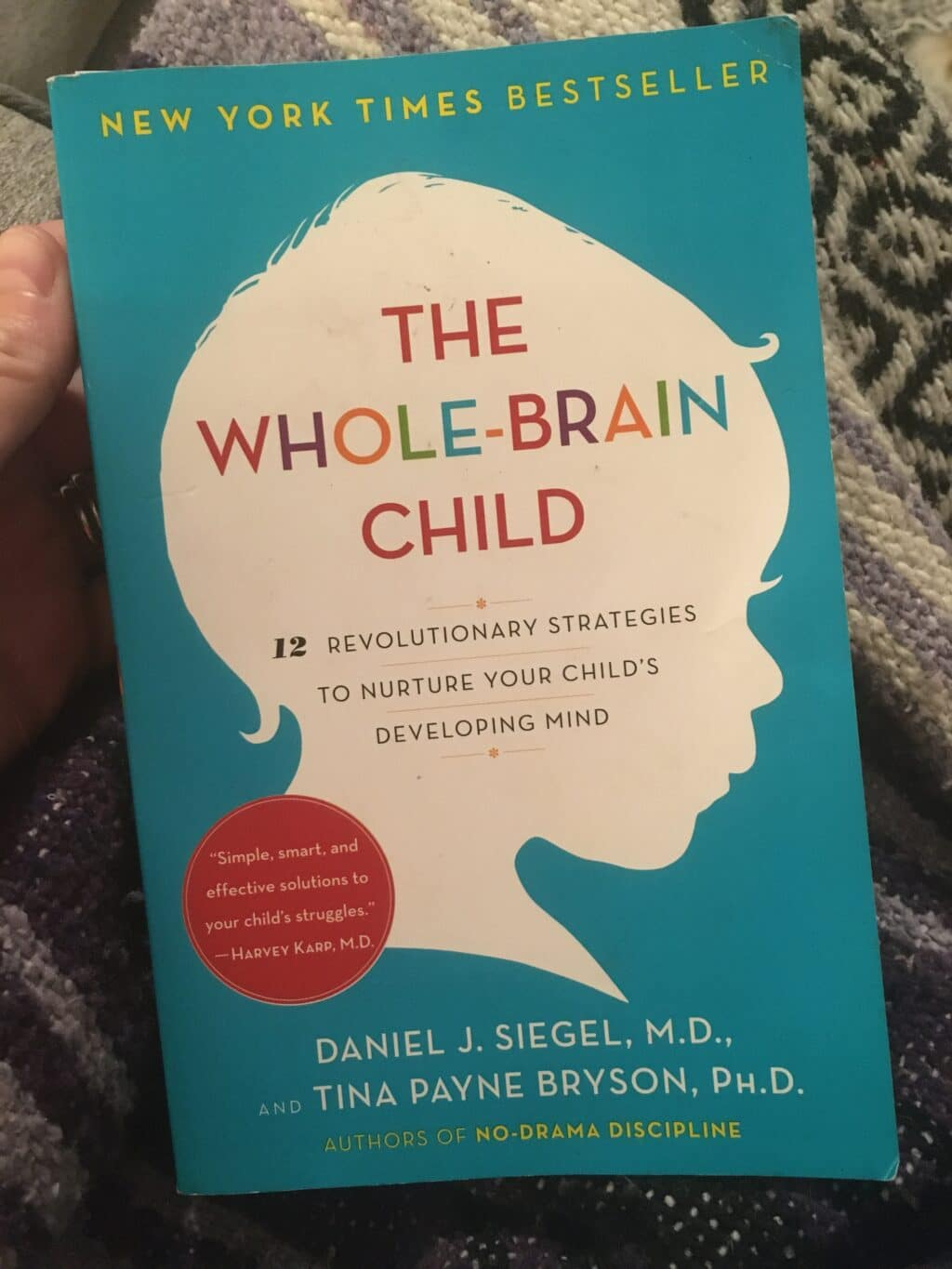One of my favorite parenting books: The Whole Brain Child
