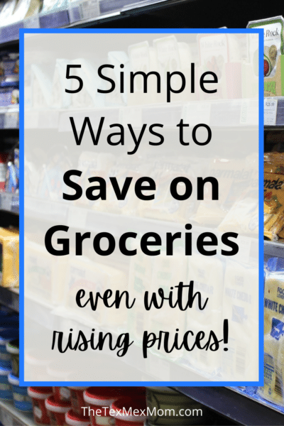 Save on groceries with prices rising