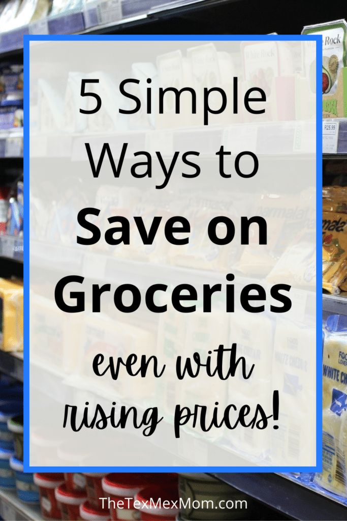 How to save money on groceries with prices rising