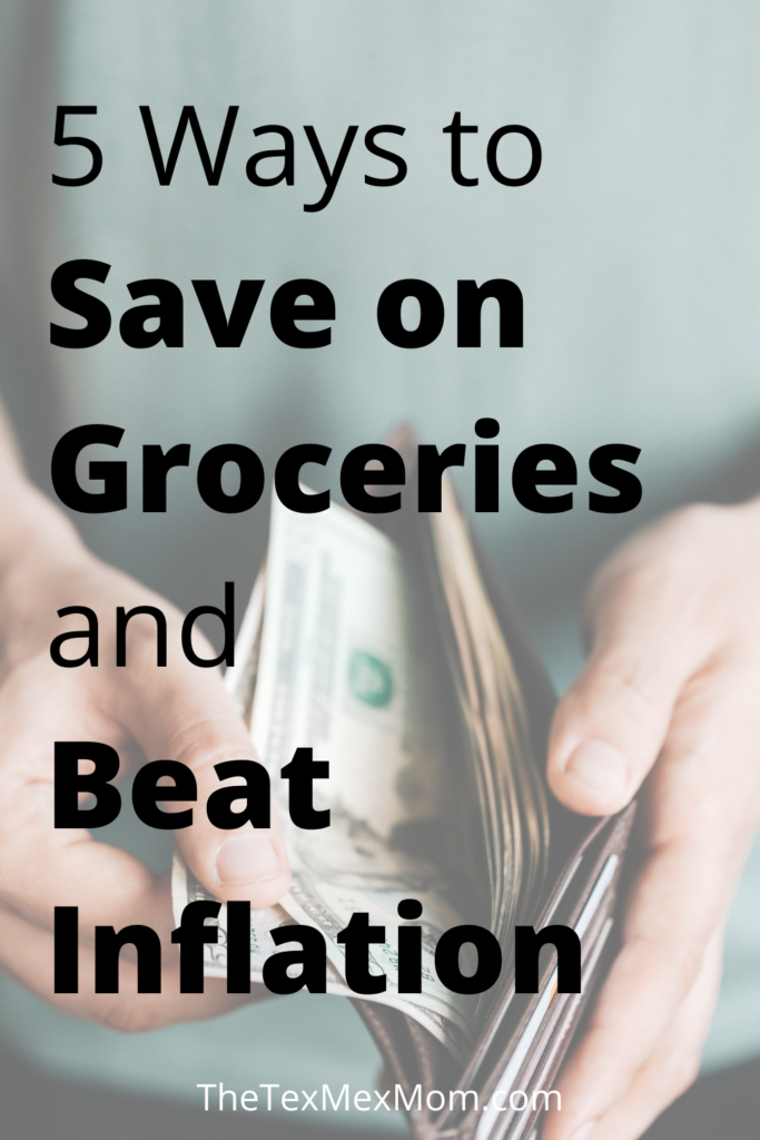 5 ways to save on groceries and beat inflation